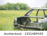 the disassembled car   Shutterstock . vector #1331489435