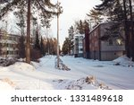 Finland, Kouvola city, winter