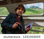 photographer is happy to be at... | Shutterstock . vector #1331503055
