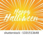 happy halloween  beautiful... | Shutterstock .eps vector #1331513648