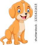 vector illustration. happy dog...   Shutterstock .eps vector #1331621615