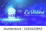 eid mubarak islamic greeting... | Shutterstock .eps vector #1331622842