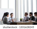 annual sales summary meeting... | Shutterstock . vector #1331628245