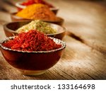 spice. various spices over... | Shutterstock . vector #133164698