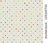 Seamless Pattern With Polka Dot