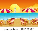 illustration of the two... | Shutterstock .eps vector #133165922
