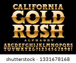 california gold rush is an old... | Shutterstock .eps vector #1331678168
