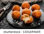 fried potato cheese balls or... | Shutterstock . vector #1331694605