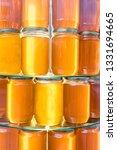 jars with homemade organic... | Shutterstock . vector #1331694665