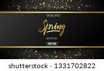 spring background with...   Shutterstock .eps vector #1331702822