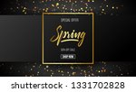 spring background with...   Shutterstock .eps vector #1331702828