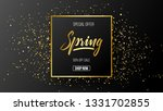 spring background with...   Shutterstock .eps vector #1331702855