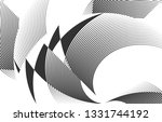 abstract halftone lines...   Shutterstock .eps vector #1331744192