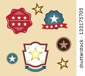 stars icons and concept... | Shutterstock .eps vector #133175705