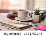 accounting. items for doing... | Shutterstock . vector #1331761145