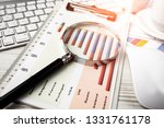 accounting. items for doing... | Shutterstock . vector #1331761178