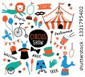 circus cute symbols set.... | Shutterstock .eps vector #1331795402