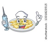 nurse scrambled egg in the... | Shutterstock .eps vector #1331823515