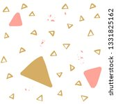 brush painted triangles... | Shutterstock .eps vector #1331825162