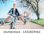 father and son having fun... | Shutterstock . vector #1331825462