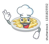 chef scrambled egg in the... | Shutterstock .eps vector #1331825552