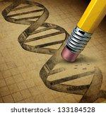 genetic engineering and dna... | Shutterstock . vector #133184528