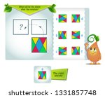 educational game for kids and... | Shutterstock .eps vector #1331857748