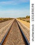 Railroad Tracks In The...