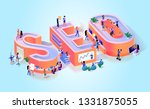 website seo traffic... | Shutterstock .eps vector #1331875055