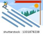 handwriting practice. basic...   Shutterstock .eps vector #1331878238