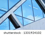 abstract image of looking up at ... | Shutterstock . vector #1331924102