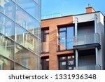 modern condo building with huge ... | Shutterstock . vector #1331936348