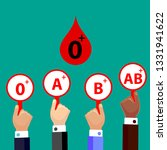 blood compatibility donation....   Shutterstock .eps vector #1331941622