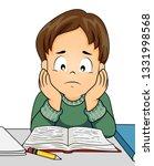 illustration of a kid boy... | Shutterstock .eps vector #1331998568