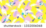 bright splats  creative... | Shutterstock . vector #1332006068