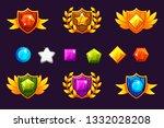 receiving achievement awards... | Shutterstock .eps vector #1332028208