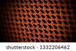 orange net nylon fabric texture ... | Shutterstock . vector #1332206462