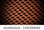 orange net nylon fabric texture ... | Shutterstock . vector #1332206465