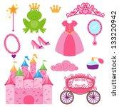 愛らしい,背景,花嫁,キャリッジ,漫画,城,チョーカー,クラウド,クラウン,かわいい,ドレス,妖精,おとぎ話,おとぎ話,ファンタジー