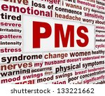 pms medical poster design.... | Shutterstock . vector #133221662