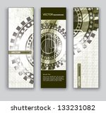 abstract banners. vector eps10... | Shutterstock .eps vector #133231082