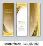 abstract banners. vector... | Shutterstock .eps vector #133232702