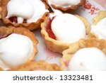 strawberry pastry on the table | Shutterstock . vector #13323481