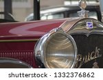 old vintage buick from forties... | Shutterstock . vector #1332376862