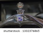 old vintage buick from forties... | Shutterstock . vector #1332376865