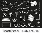infographic elements on... | Shutterstock .eps vector #1332476348