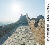 great wall of beijing china   Shutterstock . vector #1332487592