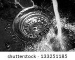 water fallen in sink | Shutterstock . vector #133251185