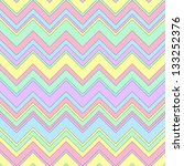 seamless zigzag background | Shutterstock .eps vector #133252376