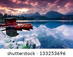 mountain lake in national park... | Shutterstock . vector #133253696
